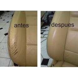 Restauración asientos piel